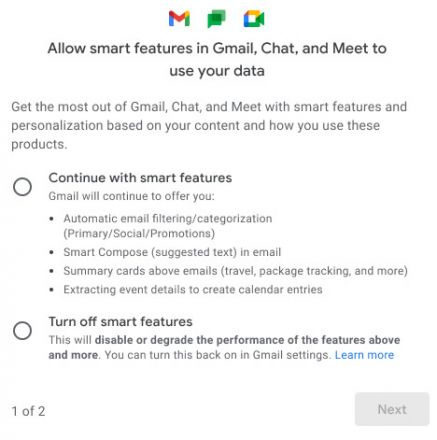 Google erweitert die Datenschutzeinstellungen von Gmail
