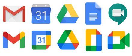 Comeback für alte Google Icons