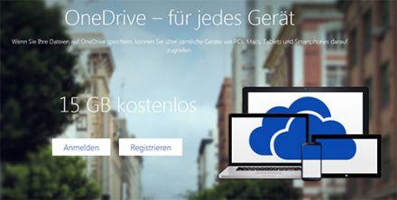 OneDrive bietet neue Funktionalitäten