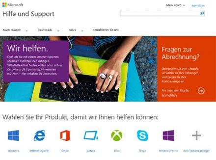 Microsoft Support, Hotline
