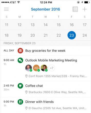 Neue Möglichkeiten beim Kalender von Microsoft Outlook