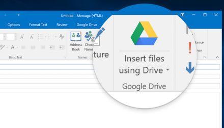 Microsoft Outlook: Plugin für Google Drive wird ersetzt