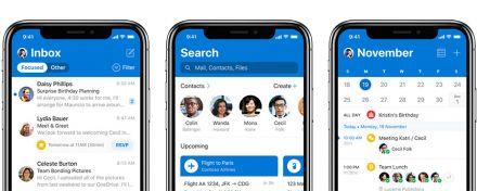 Outlook für iOS: ein neues App-Design und Funktionen