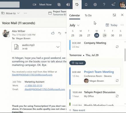 Neues Feature erleichtert das Arbeiten mit Outlook Web