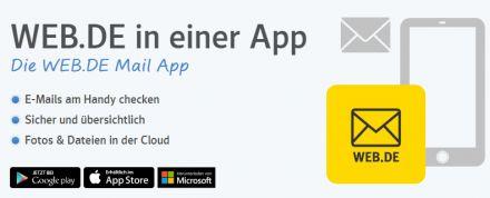 Verwalten Sie mehrere E-Mail-Konten mit der WEB.DE Mail App