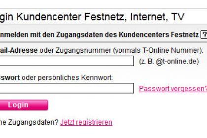 E-Mail-Passwort bei T-Online ändern