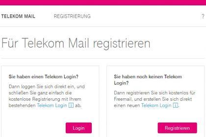 Einrichten einer Mailadresse bei T-Online